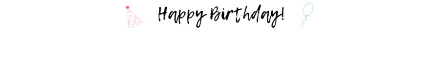 Happy Birthday NintendoSwitch