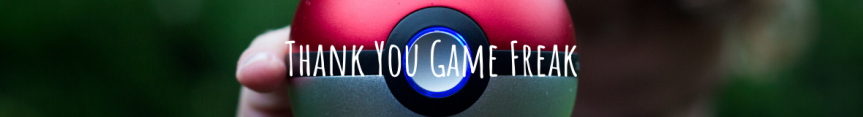 Dear Game Freak