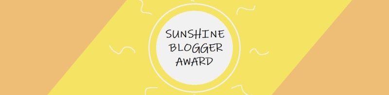 The Sunshine Blogger Award: Honest GamerEdition